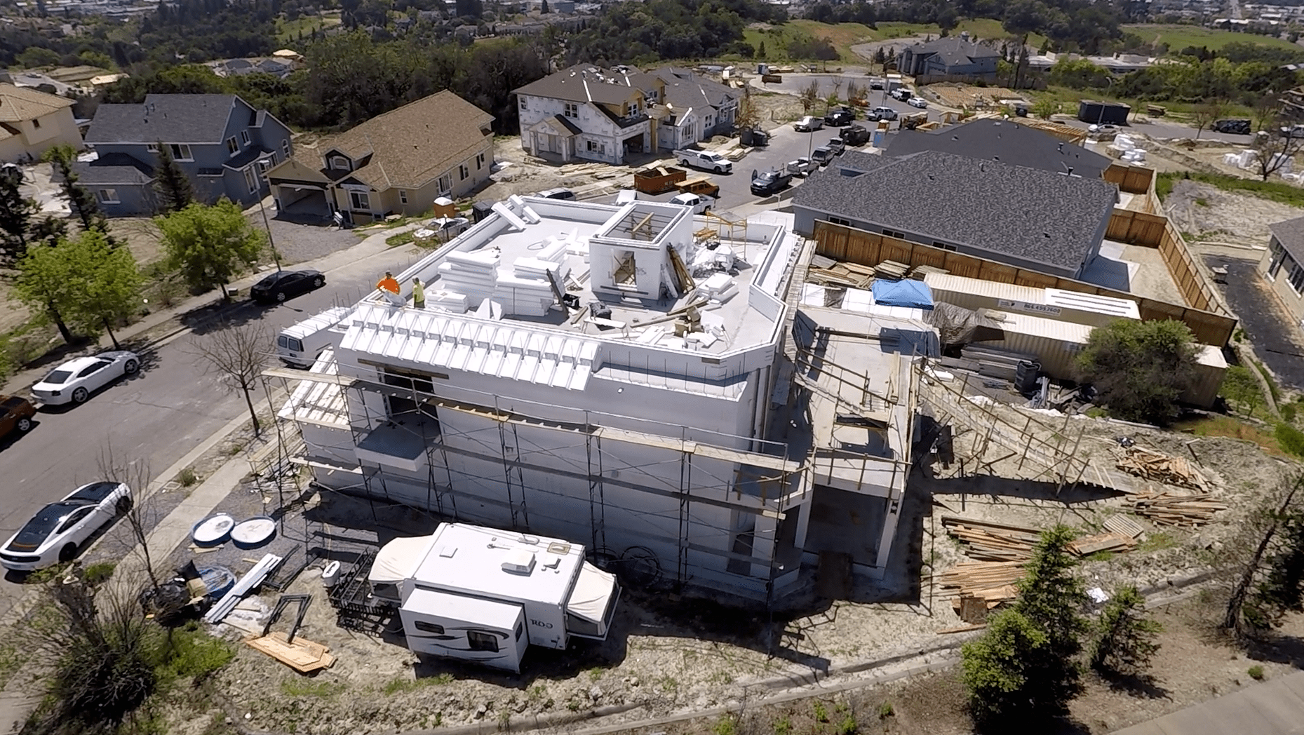 ICF - Insulated Concrete Form Home