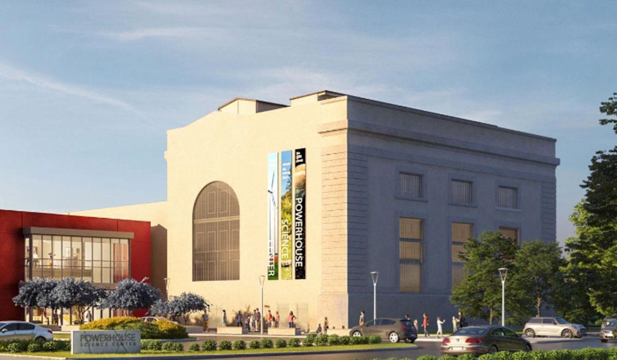Adaptive Reuse project - Powerhouse Science Center, Sacramento, CA
