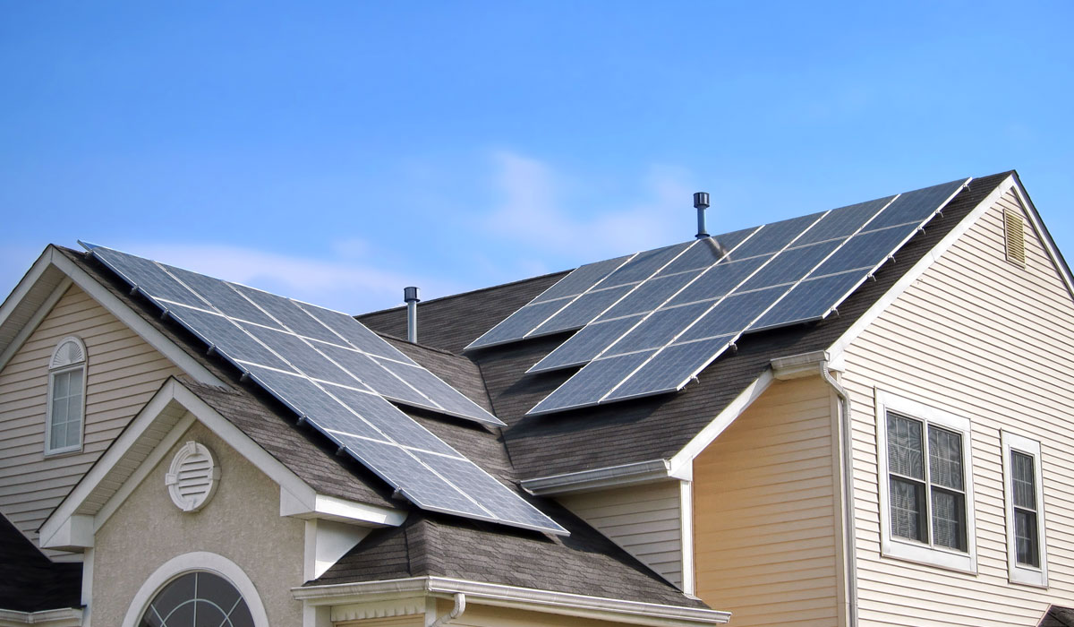 Solar panel permit package for solar panels on residential homes