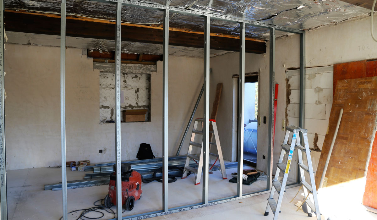 Structural wall demolition engineering